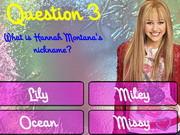 Play Hannah Montana Trivia