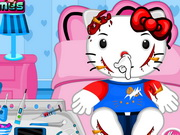 Play Hello Kitty Bicycle Accident