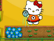 Play Hello Kitty Defend The Flowers