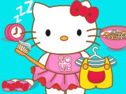 Play Hello Kitty Goes To School