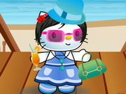 Play Hello Kitty Summer Dress Up