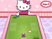 Play Hello Kitty Table Hockey