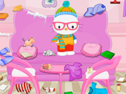 Play Hello Kitty Winter Room Cleaning