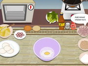 Play How to Make a Chicken Burger