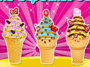 Play Ice Cream Cone Cupcakes Saga