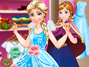 Play Ice Princess Fashion Store