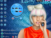 Play Lady Gaga Celebrity Makeover