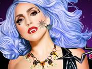 Play Lady Gaga Halloween Party Makeup