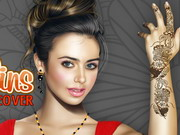 Play Lily Collins Makeover