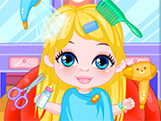 Play Little Baby Princess Hairdresser