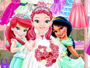 Play Little Princess Wedding Dress Up