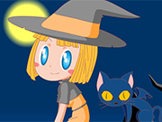 Play Little Witch Dressup