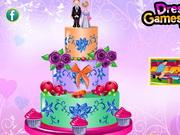 Play Luscious Wedding Cake Decor