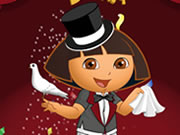 Play Magician Dora Dress Up