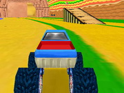 Play Mario Monster Truck 3d