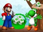 Play Mario Yoshi Eggs 2