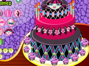 Play Marvellous Monster High Cakes