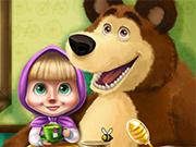 Play Masha Spring Allergy