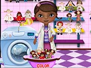 Play Mcstuffins Washing Dolls