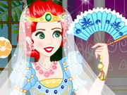 Play Merida Wedding Dress Up