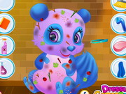 Play Messy Panda Makeover