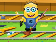 Play Minion At Railway Station