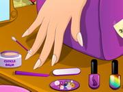 Play Miss Diamonds Nails Prep