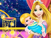 Play Mommy Rapunzel Crib Decor