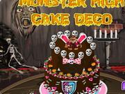 Play Monster High Cake Deco