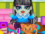 Play Monster High Draculaura N Frankie Babies