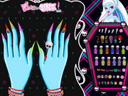 Play Monster High Manicure