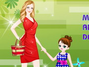 Play Mother and Daughter Dress Up
