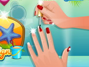 Play Nail Studio Beach Design