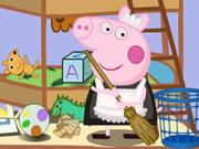 Play Peppa Pig Clean Room