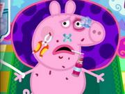 Play Peppa Pig Injured