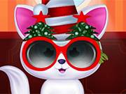 Play Pet Cat Christmas Makeover