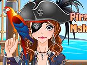 Play Pirate Girl Make Up