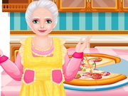 Play Pizza Cooking With Grandma