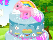 Play Pony Cake Decoration