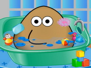 Play Pou Bath And Care
