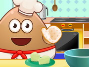 Play Pou Cooking Raffaello