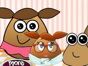 Pou Family At The Docto