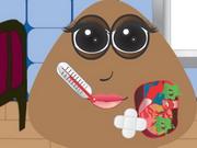Play Pou Girl Heart Surgey