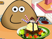 Play Pou Ice Cream Decoration