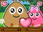 Play Pou Lovely Kiss 2