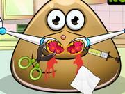 Play Pou Nose Doctor