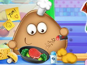 Play Pou Real Cooking