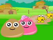 Play Pou Village Adventure