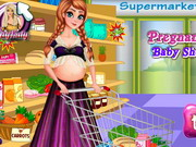 Play Pregnanat Anna Baby Shopping
