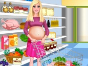 Play Pregnant Barbie Shopping